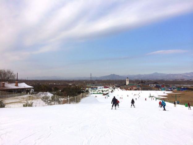 旅遊|穿越北京 南山滑雪場 2013