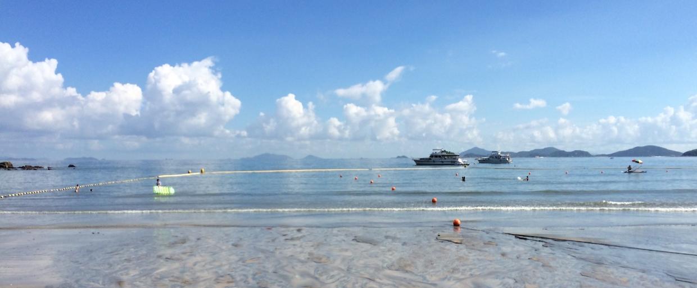 香港|半日偷閒 長長的長沙沙灘