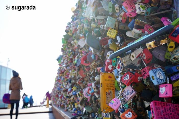 旅行|首爾 N首爾塔 站在高處感受愛