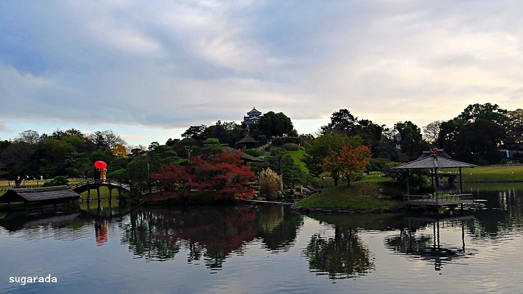 日本 岡山:果然是三大名園,後樂園